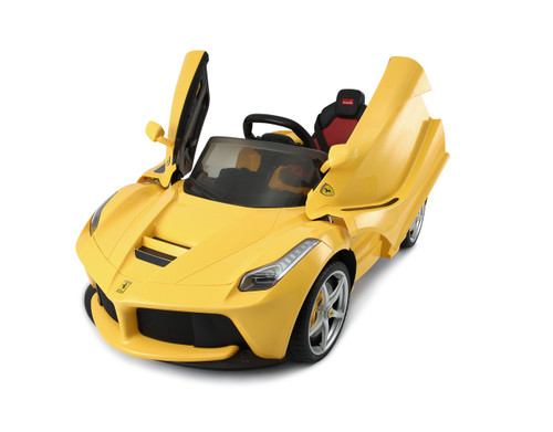 LaFerrari Yellow power wheels