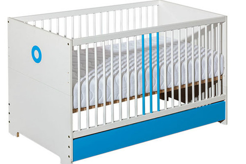 Baby Cot Classic Blue