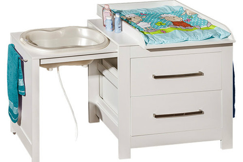 Bath And Changing Chest of Drawers