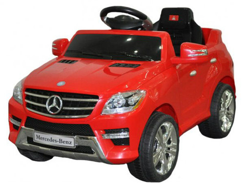 Mercedes power battery car with LED wheels for baby girls