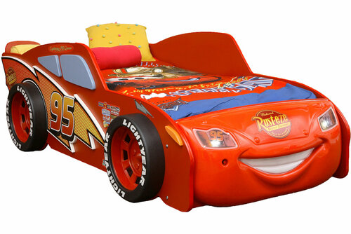 Disney Car Lightning McQueen Toddler Bed