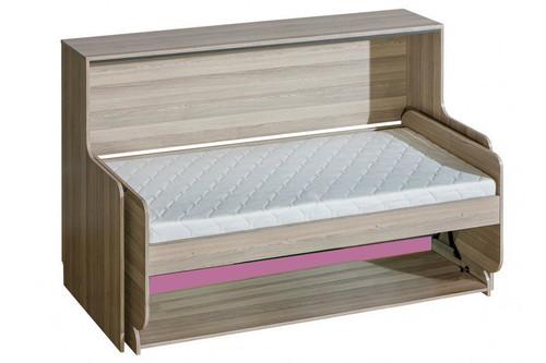 Ultimo desk bed purple