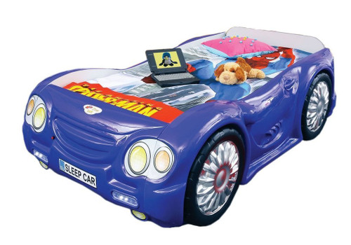 Sleep Car Bed For Kids | Blue