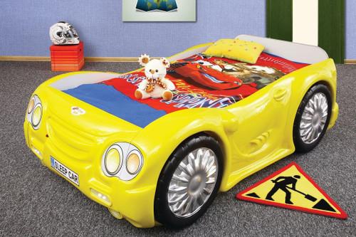 Sleep Car Bed For Kids | Yellow