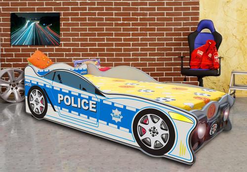 Zig Zag Police Car