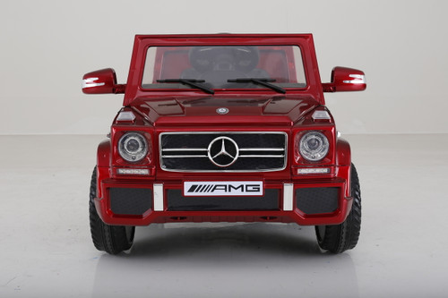 Mercedes g65 red power wheels
