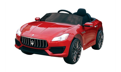 Maserati Ghibli Red