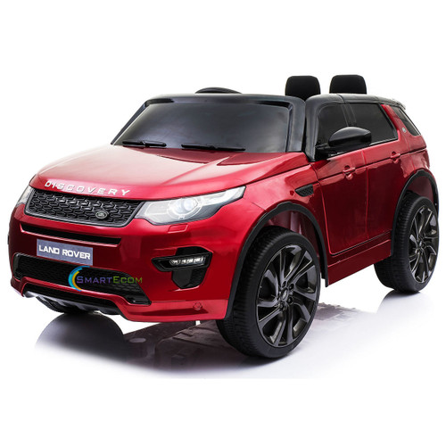 Land Rover Discovery   Red