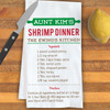 Personalized Family Recipe Kitchen Towel