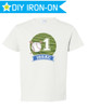Personalized Baseball Birthday T-Shirt Iron-On Transfer for Kids