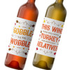 Personalized Thanksgiving Wine Labels