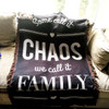 Personalized We Call It Family Throw Blanket