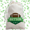Personalized Party Favor Bag: Game Day Football