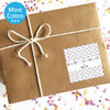 Personalized Happy Birthday Stickers: Mod Dots