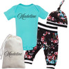 Personalized Fancy Floral Gift Set