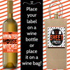 Printable Drink Up Witches Halloween Wine Labels (Instant Download)