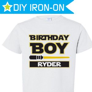 Birthday Iron-Ons