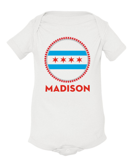 Personalized chicago flag swag t shirt personalized chicago flag swag baby shirt negle Gallery