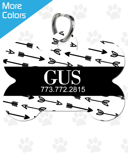 Personalized Pet Tag: Joy & Chaos Bone