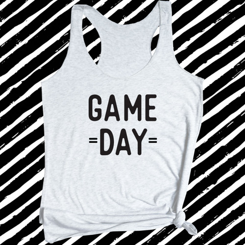 Game Day Womens Football Tank Top