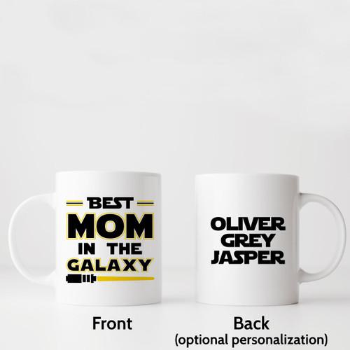 Best Mom In The Galaxy Star Wars Mug