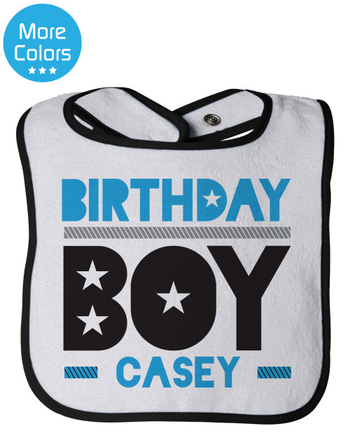 Personalized First Birthday Bib: Epic Birthday Boy