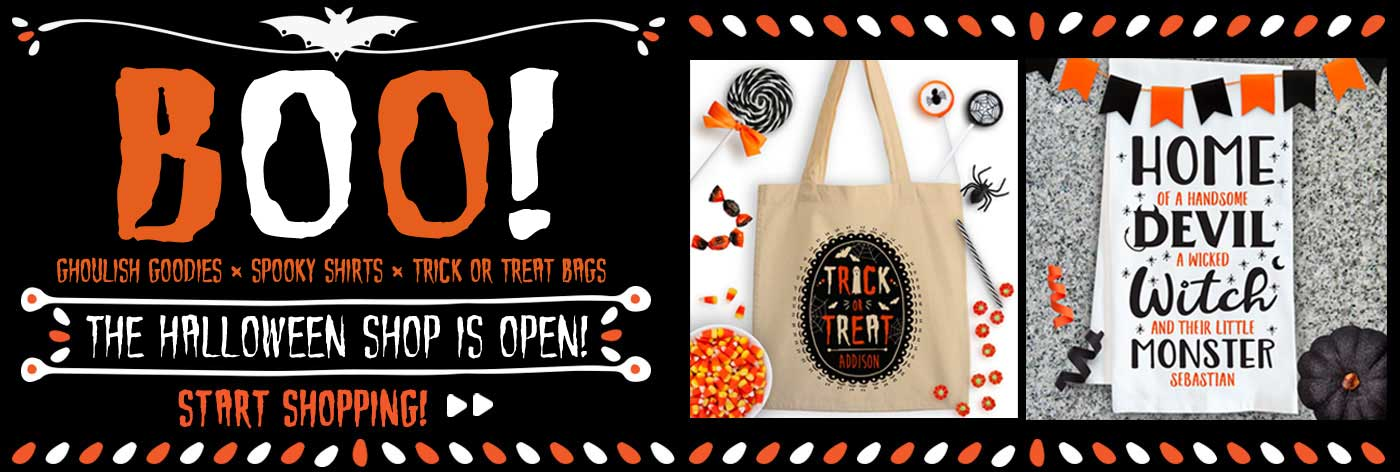 Custom Halloween Gifts for Baby Kids and Family