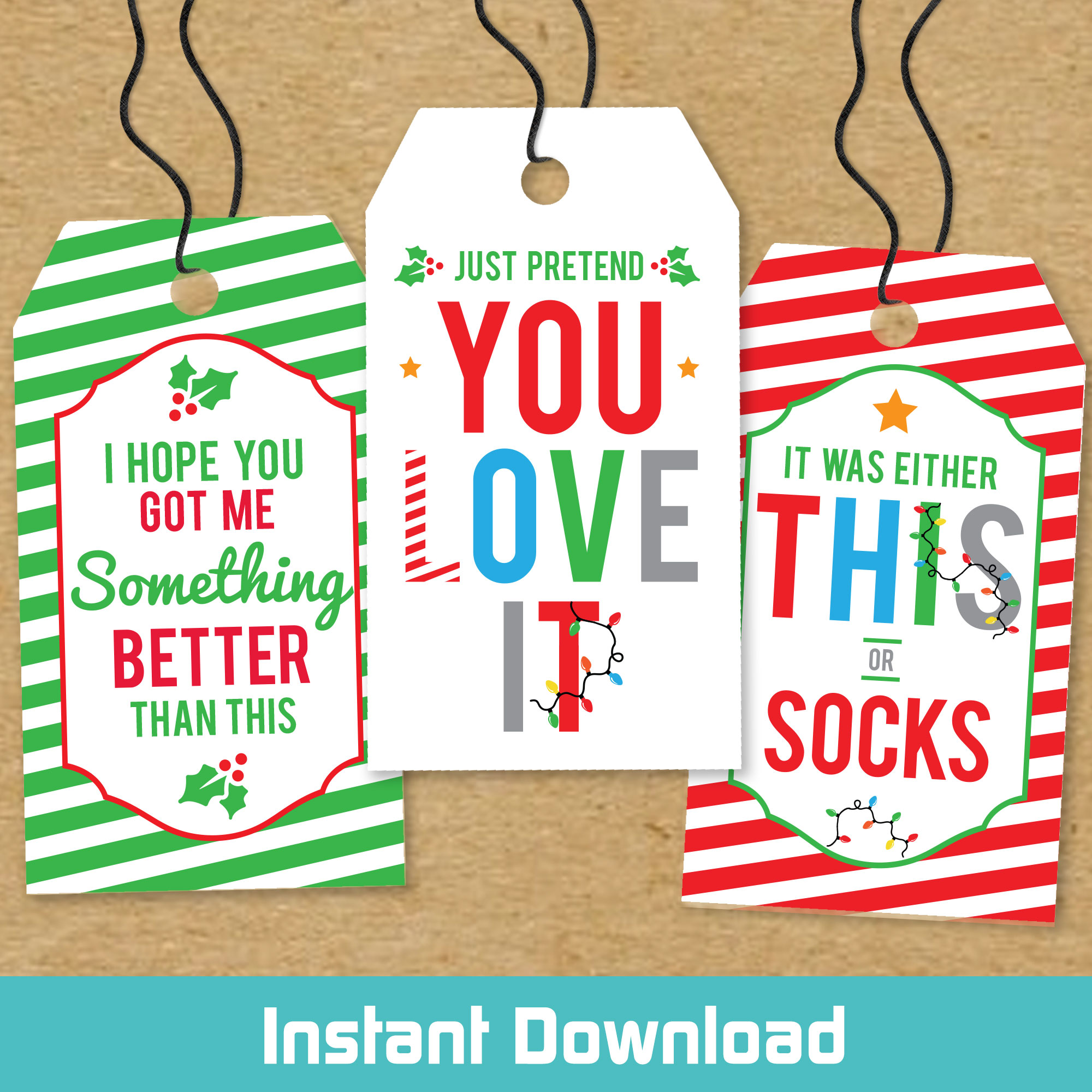 "Shop Christmas Tags & Stickers"">