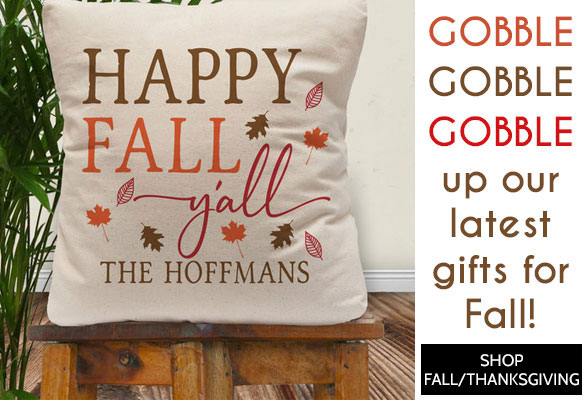 "Shop Custom Thanksgiving Gifts"">