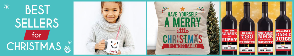 Personalized Holiday Best Sellers