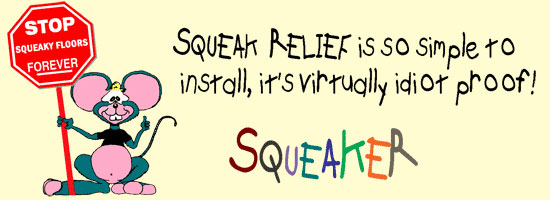 Squeaker the Mouse on Squeak-Relief