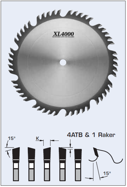 "S55350 14"" Combination/Planer Blade"