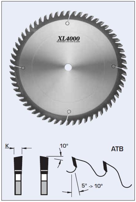 S04302 300mm Standard Cross Cut Blade
