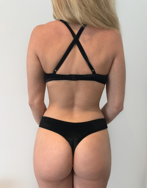 BLACK VELVET BOTTOMS