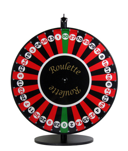 24 Inch Roulette Wheel Spinning Designs