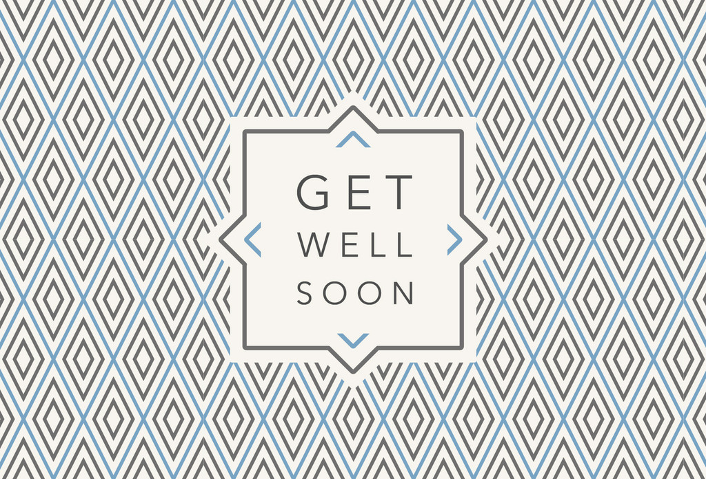 Get Well Soon Postcards - Pack of 25