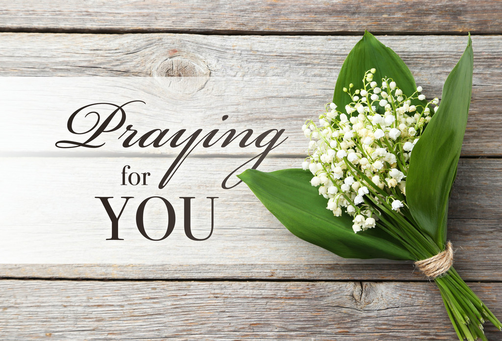 Praying for You Postcards - Pack of 25