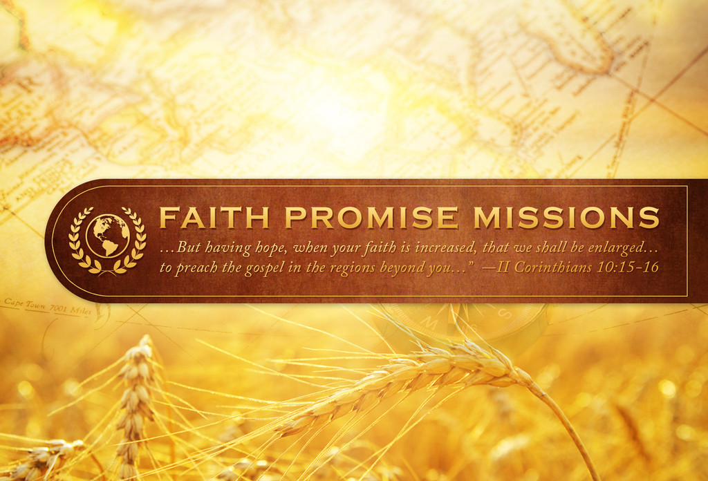 Faith Promise Commitment Card - Non-Perforated (A)