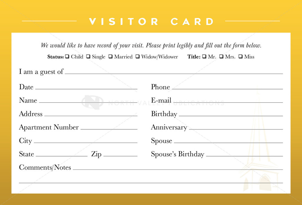 Visitor Card (10)