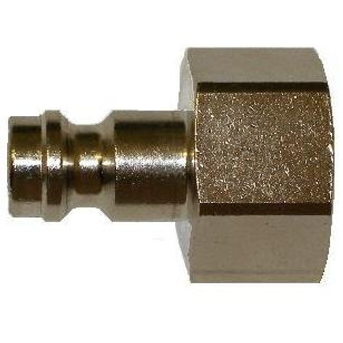 Plug 1/4in - Steel Female Thread