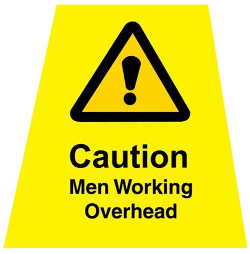 MINICONE Label Men Working Overhead