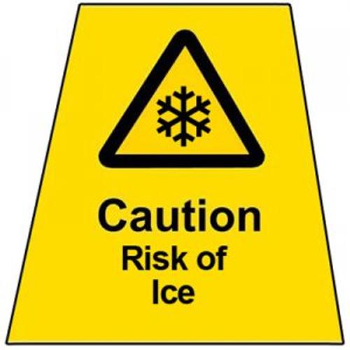 MINICONE Label Risk of Ice