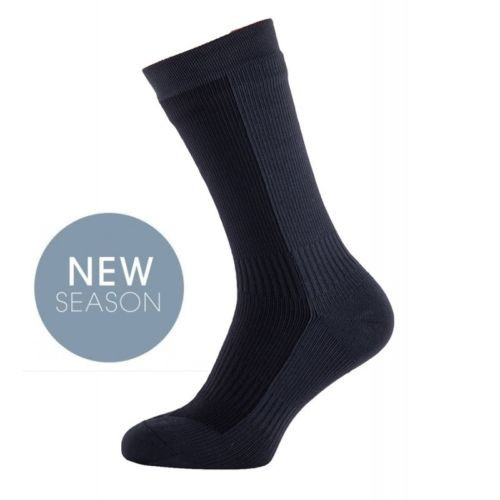 Sealskinz Waterproof Socks, thick mid length sock, sealskinz sock, waterproof sock, working socks, sealskinz cycle sock