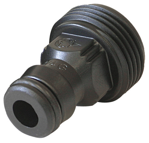Plug 1/2in - Nylon 3/4in Male threaded (GF)