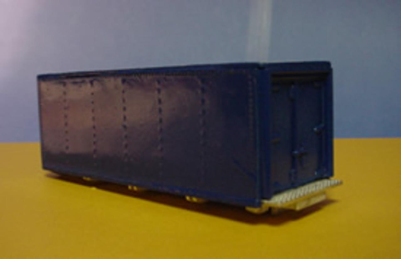 24 ft Riveted Smooth Side Van Body Kit