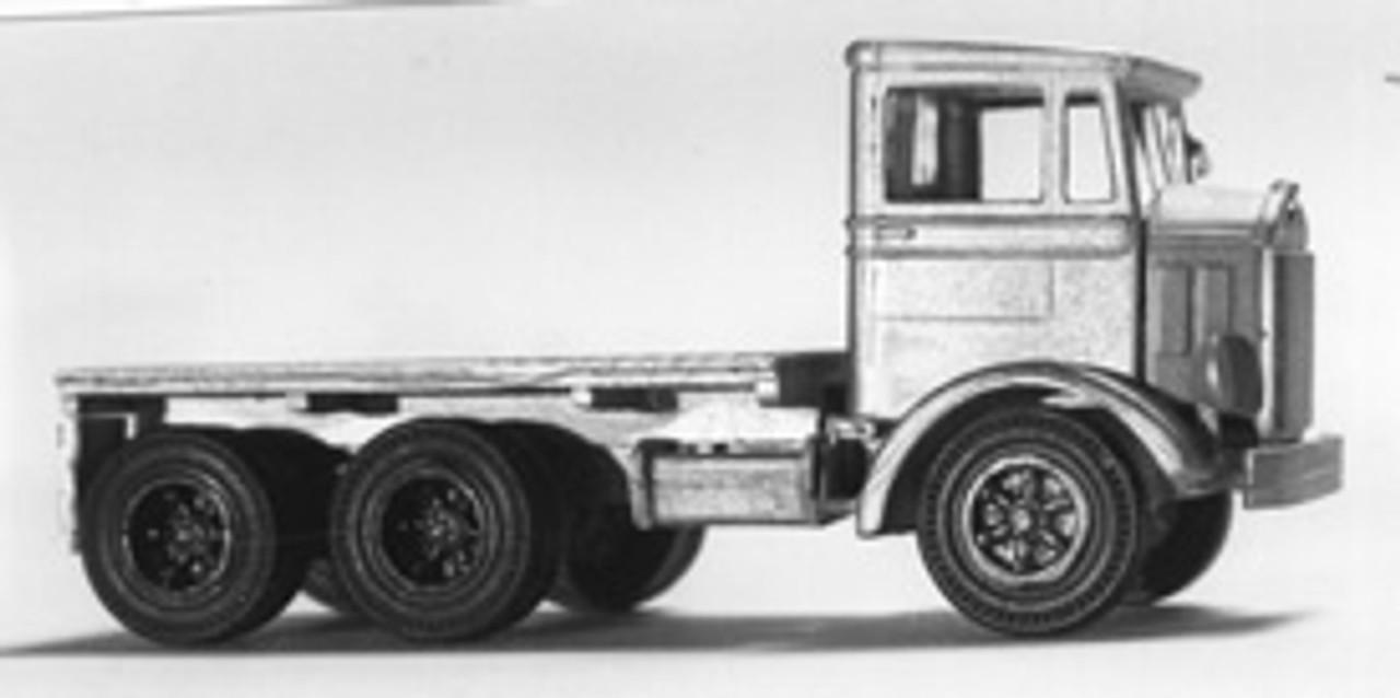 1933 Mack CJ Truck with Flatbed Stake Body Kit