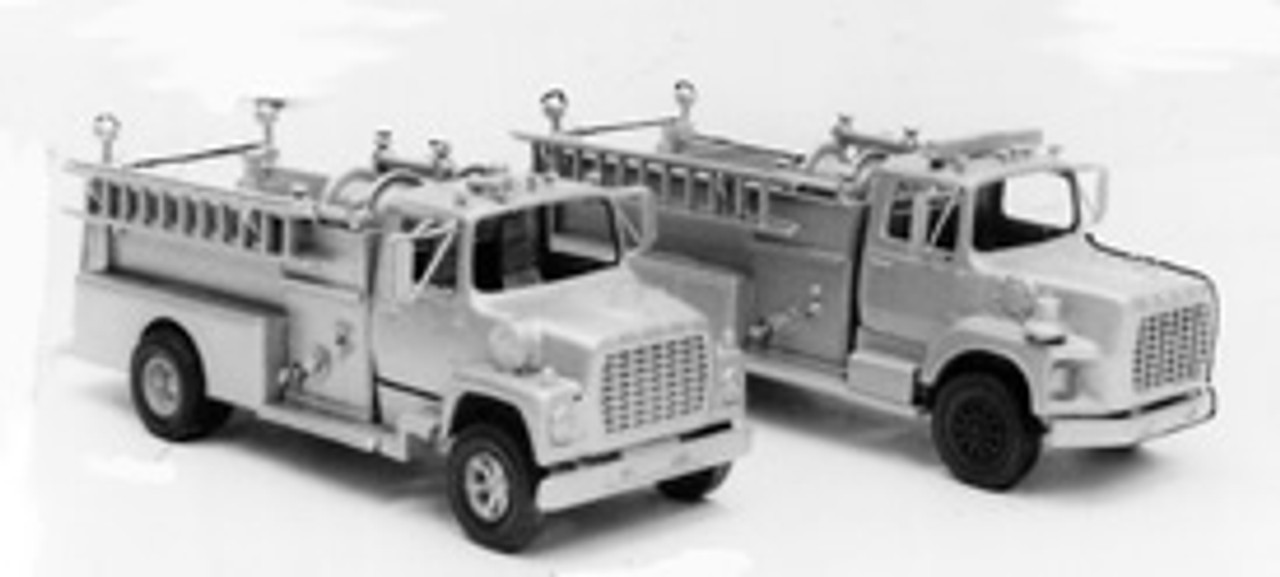 1969 Ford LN Firetruck with Pierce Pumper Body Kit