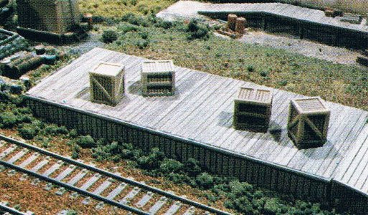 Wood Loading Dock & Wood Ramp Kit