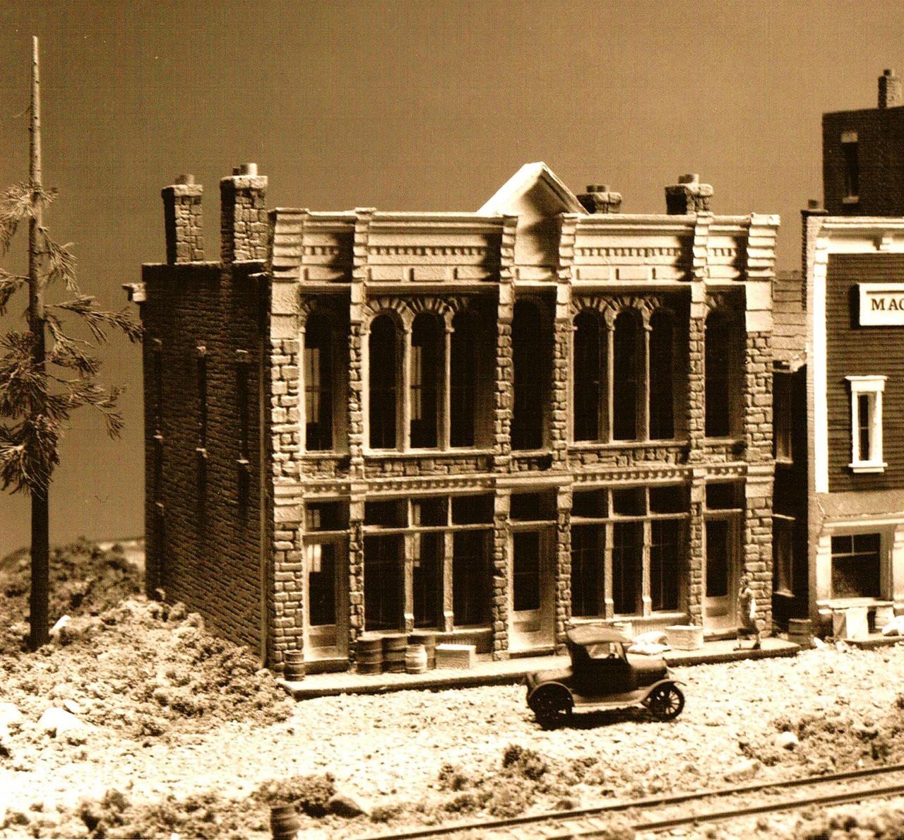 Miners Union Hall Super Detail Set