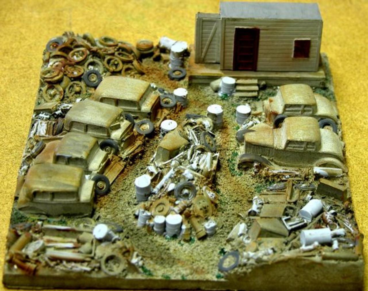 Automobile Junk Yard Kit